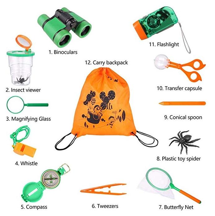 kit explorador camping bolaso